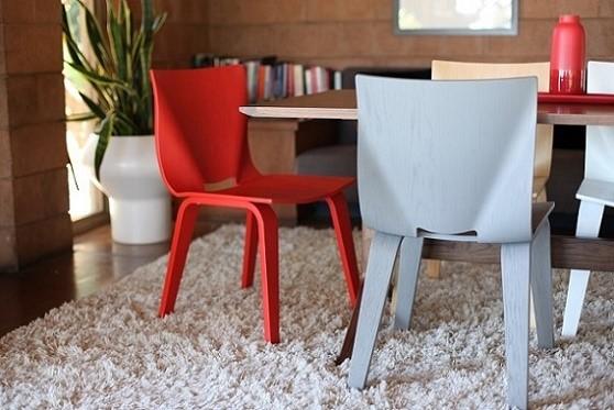 Krzesła wyprodukowane dzięki technologii 3D