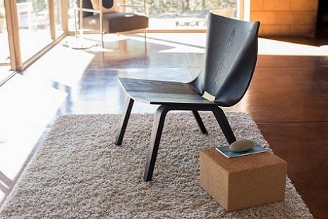 Krzesło szare