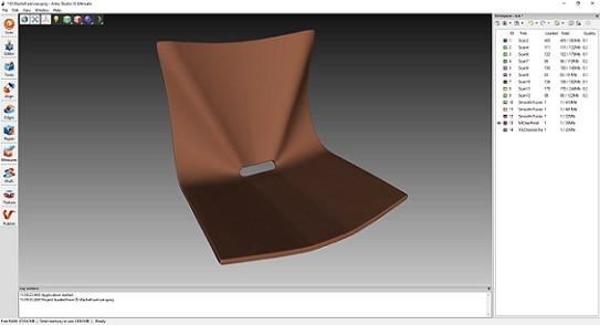 Skanowanie 3D i inżynieria odwrotna – projektowanie mebli