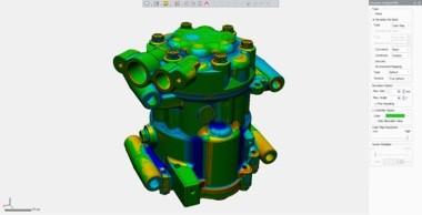 Skan 3D w programie GEOMAGIC DESIGN X