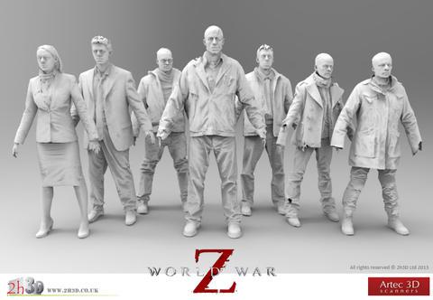 Artec 3D - zeskanowane postacie