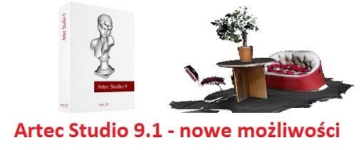 Oprogramowanie ArtecStudio 9