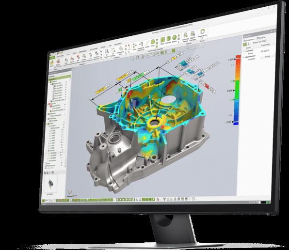 kontrola jakości, Kontrola jakości – Skanowanie 3D