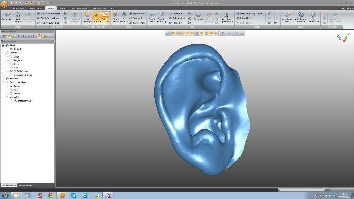 Leios - program do obróbki skanów 3D