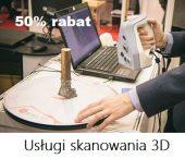 Usługi skanowania 3D