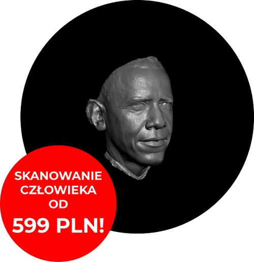 , Skanowanie 3D ludzi – oferta specjalna!