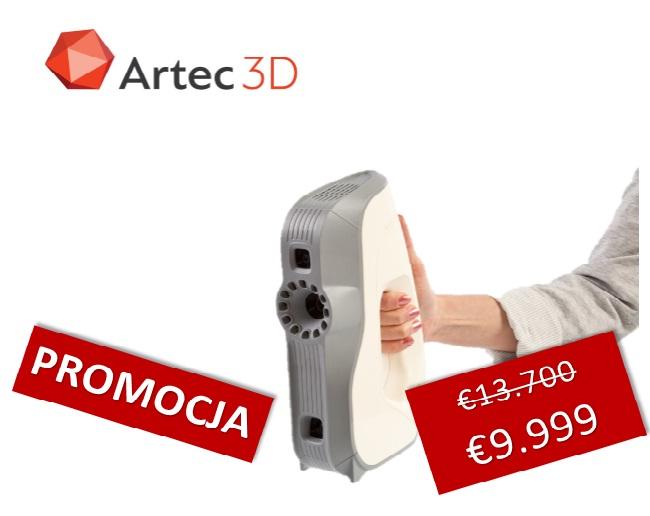 Skaner Artec EVA promocyjna cena