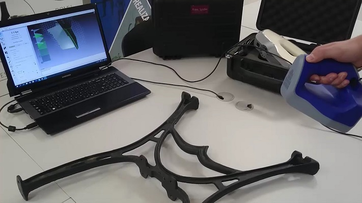 , Działanie skanera 3D