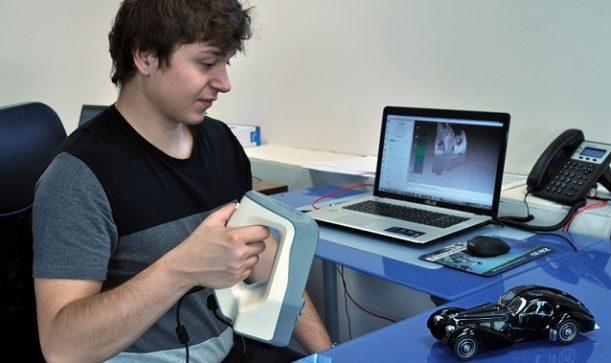 skanowanie 3D artec bugatti 1