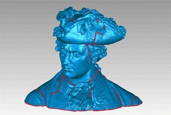 Napoleon - skan 3D