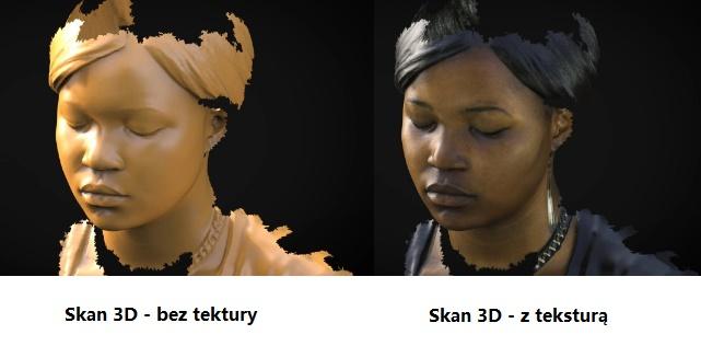 skan 3D portret cyfrowy