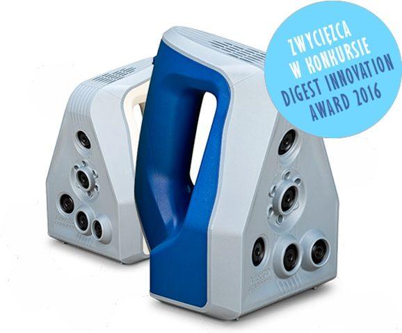 Skaner 3D Artec Spider - Zwycięzca w konkursie Digest Innovation Award 2016