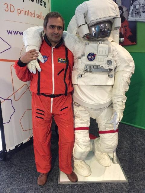 Skanowanie 3D astronauta