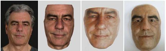 skanowanie 3d, Muzeum figur silikonowych – skanowanie 3D