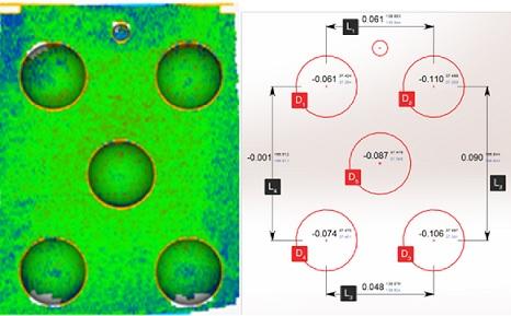 Dokładność skanera 3d, Dokładność skanera 3D potwierdzona certyfikatem