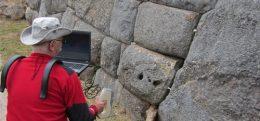 Skan 3D w Machu Picchu