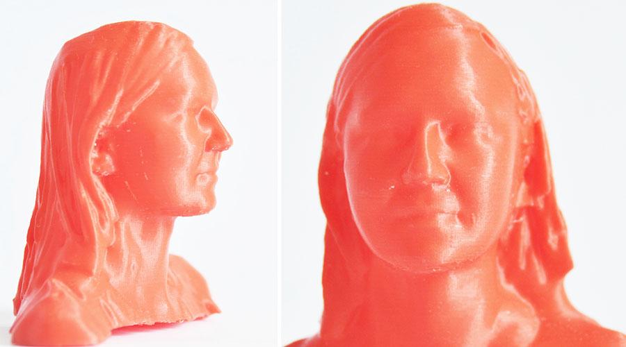 Figurka kobiety wyprodukowana dzięki technologii 3D