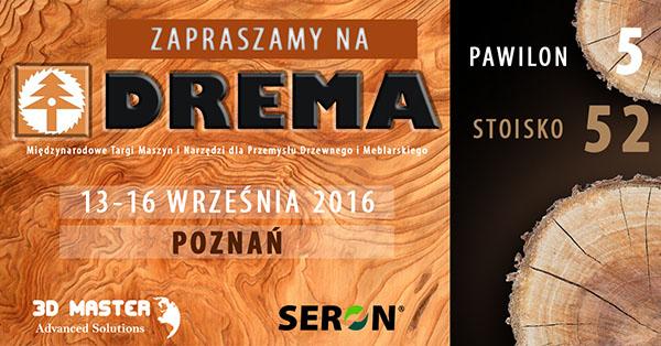 Drema 2016 zaproszenie na targi