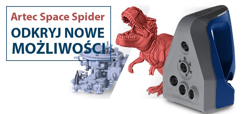 Skaner 3D Space Spider