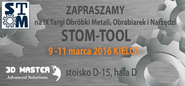 Zaproszenie Targi Stom 2016