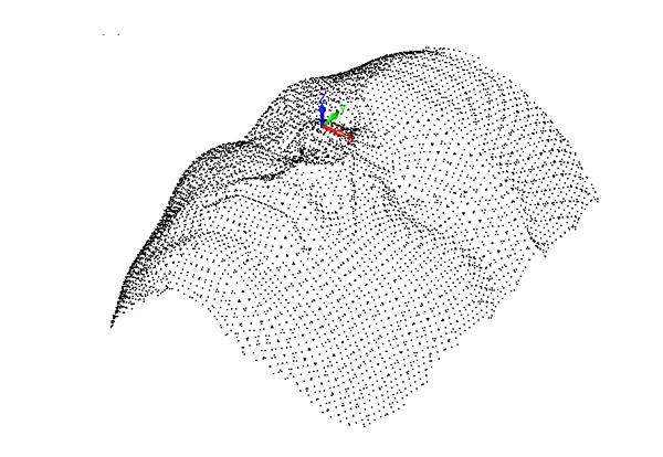 CADbro - chmura punktów - zrzut z programu