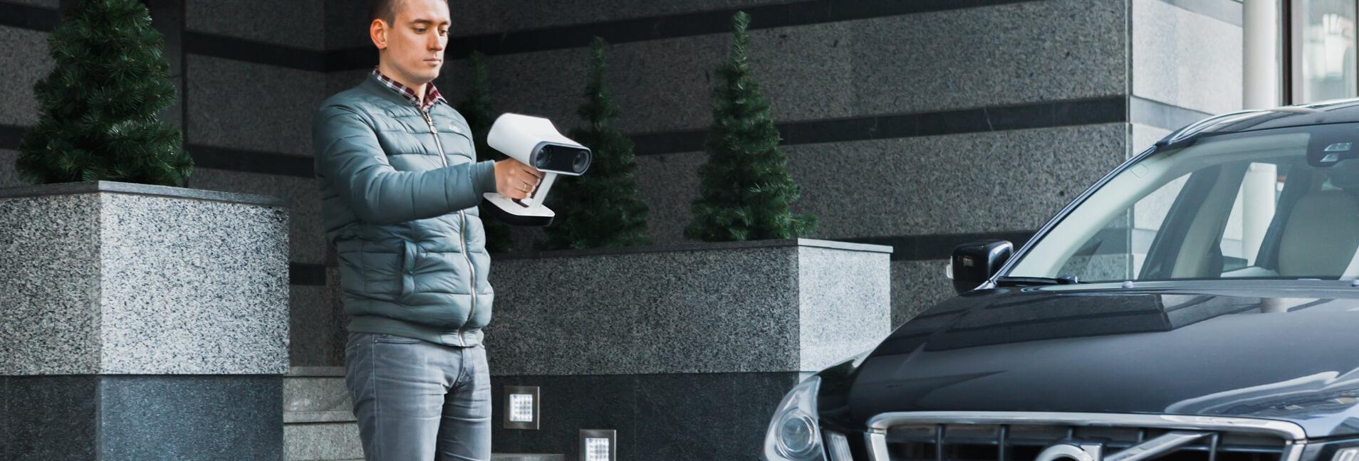 Leo - mobilny skaner 3D
