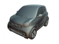 model 3D samochodu osobowego