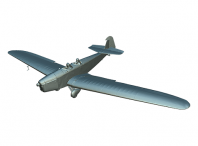 model 3D samolotu