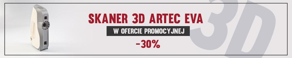skaner 3d, Promocja skaner 3D Artec Eva