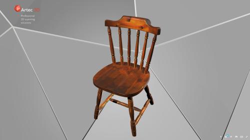model 3d krzesła