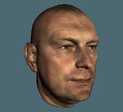 skan 3d - twarz