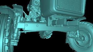 , Wykorzystanie skanerów firmy Artec 3D w produkcji maszyn rolniczych oraz podczas przeprowadzania kontroli jakości części maszyn
