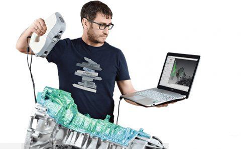 zastosowanie skanera 3D w przemyśle, Zastosowanie skanera 3D w przemyśle